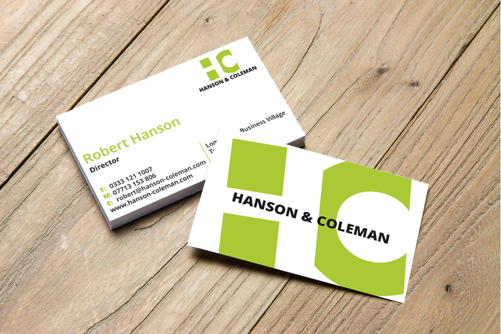 Hanson and Coleman Bus Card
